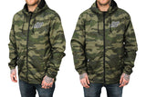 Live Pure Hooded Windbreaker (Camo)