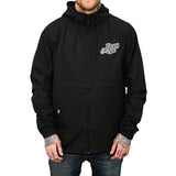 Live Pure Hooded Windbreaker (Black)