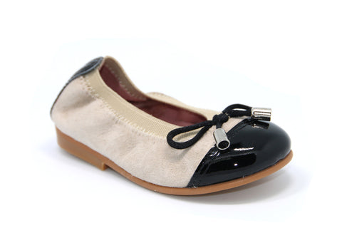 Suede Leather Ballet Flats.-PG - Karaso Flex. Shoes Made in Spain - 1