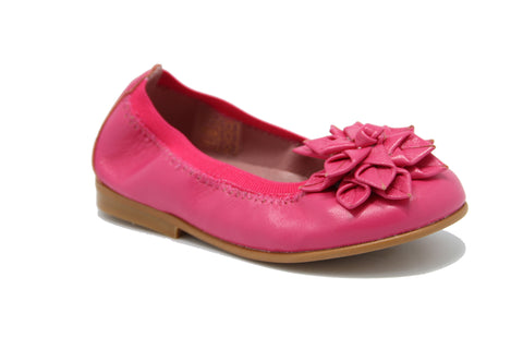 Fucsia Flat.- PG - Karaso Flex. Shoes Made in Spain - 1