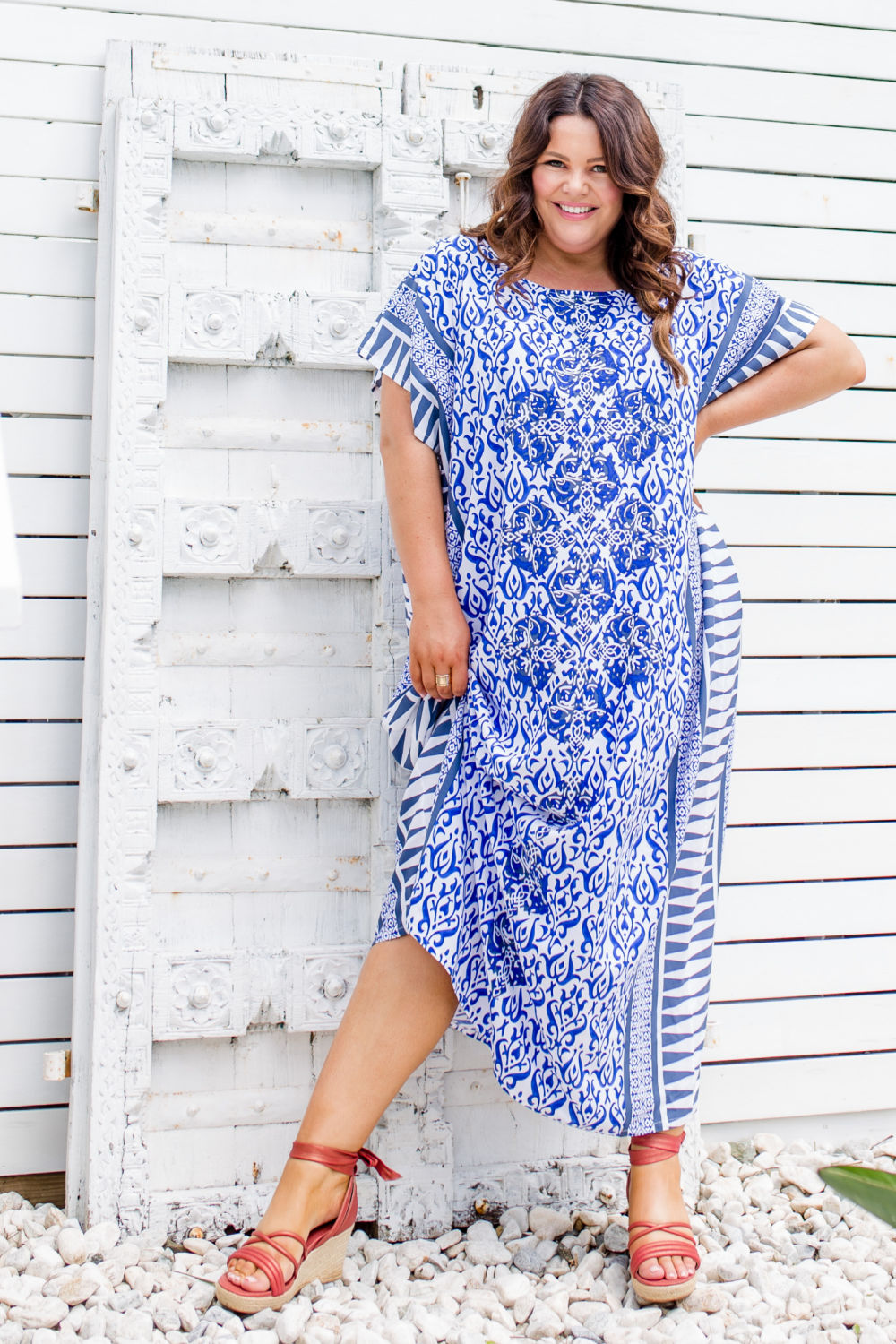 plus-size-maxi-kaftan-summer-dress-blue-white