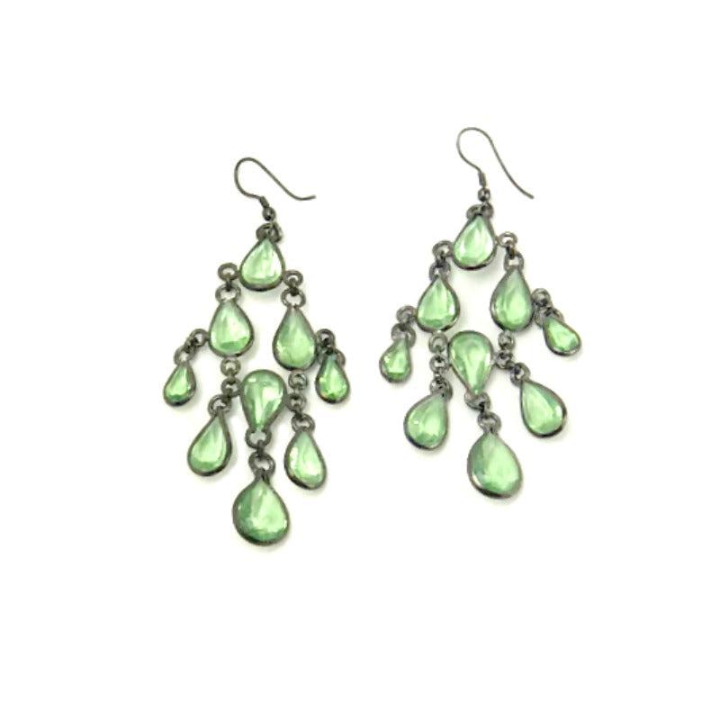 Chandelier-drop-earrings-pale-green-beads