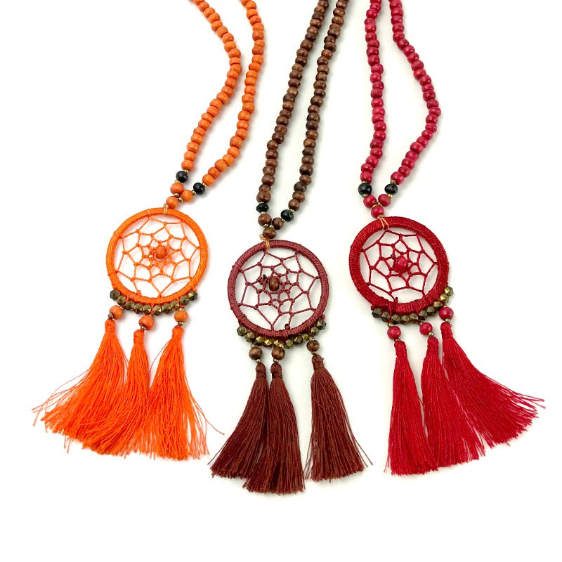dreamcatcher-pendant-necklace-wood-beads-tassel