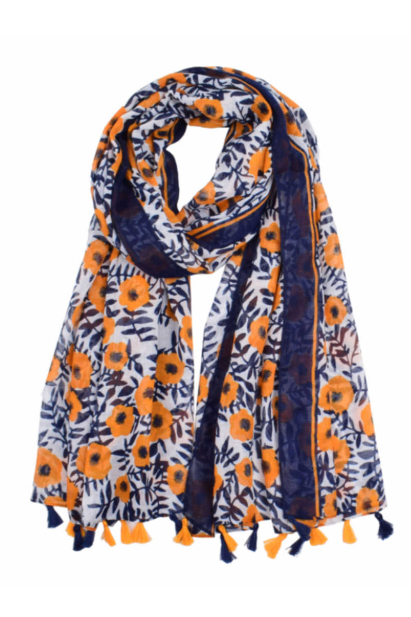 poppy-scarf-blue-yellow-floral