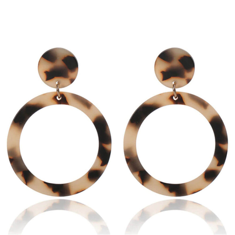 Tortoiseshell-hoop-earrings-brown-cream
