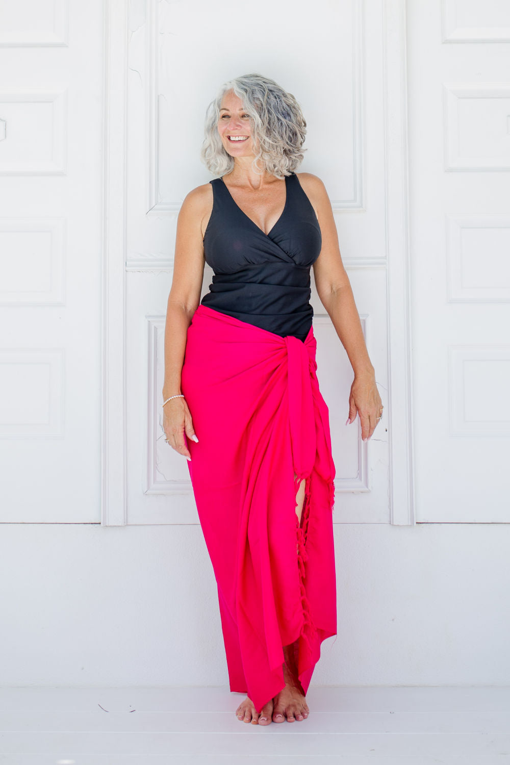 hot-pink-beach-sarong