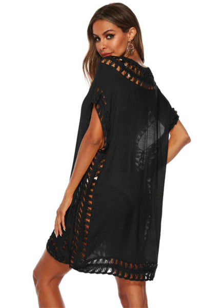 kaftan-top-plus-size-black-crochet-fringe
