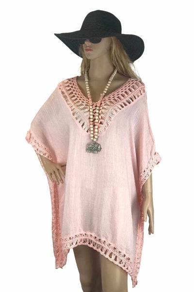 plus-size-kaftan-top-peach-crochet-fringe