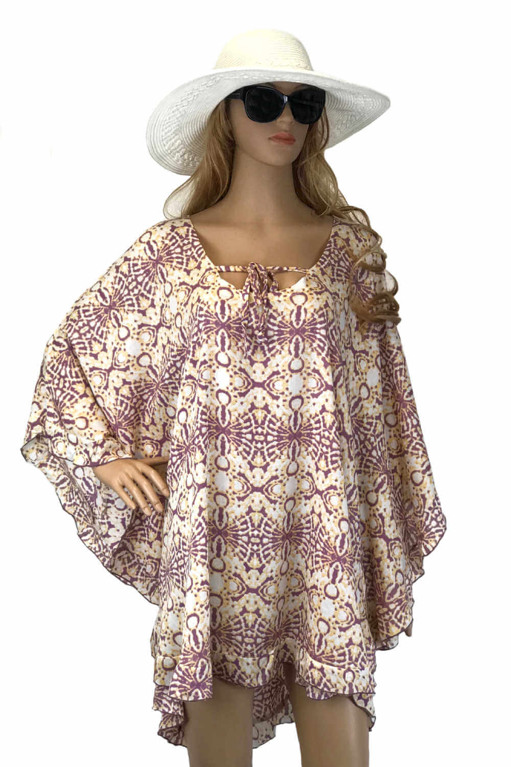 kaftan-top-geometric-design-lavender-peach