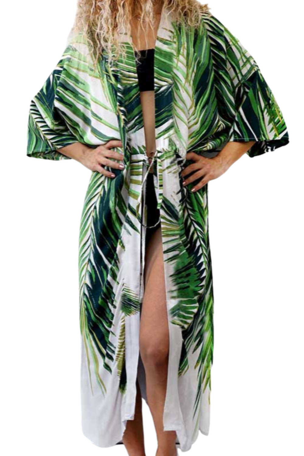kimono-tropical-palm-leaf-white-green