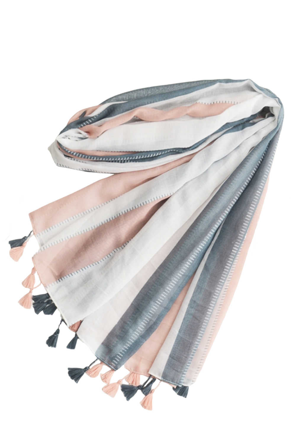 Multicolour Stripe Scarf