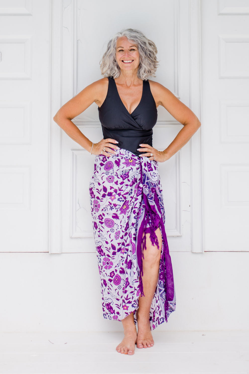 large-floral-beach-sarong-purple