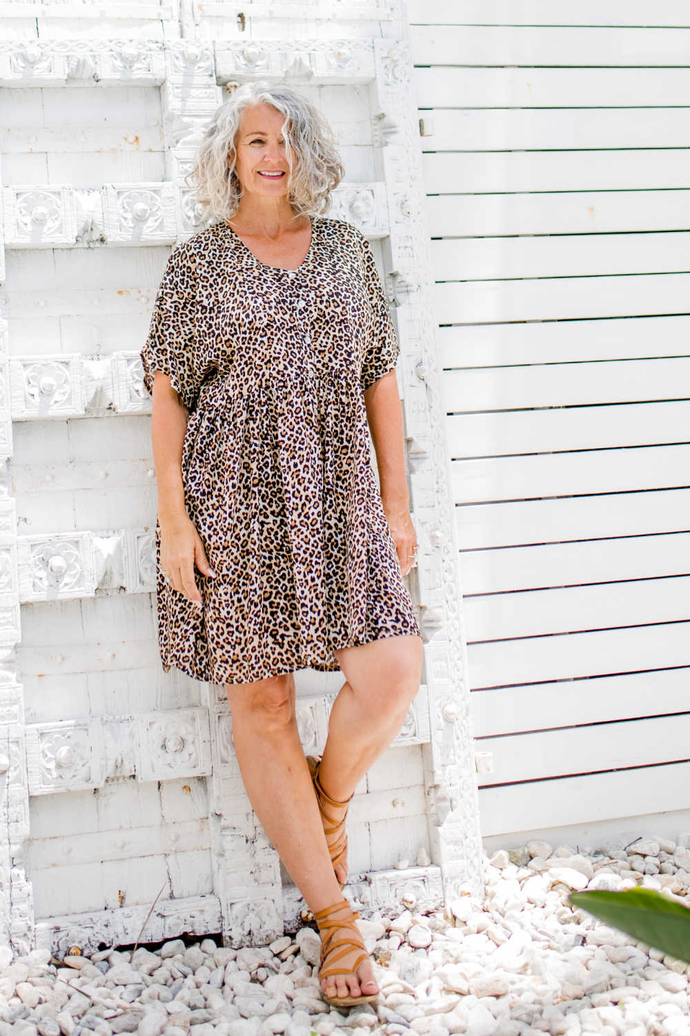leopard-print-short-summer-dress