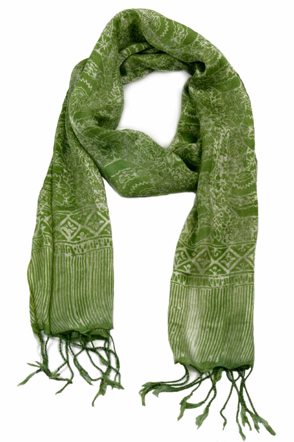 lime-green-silk-scarf-floral-design-ladies