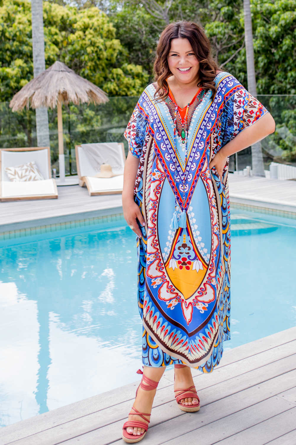 plus-size-maxi-kaftan-dress-blue-floral