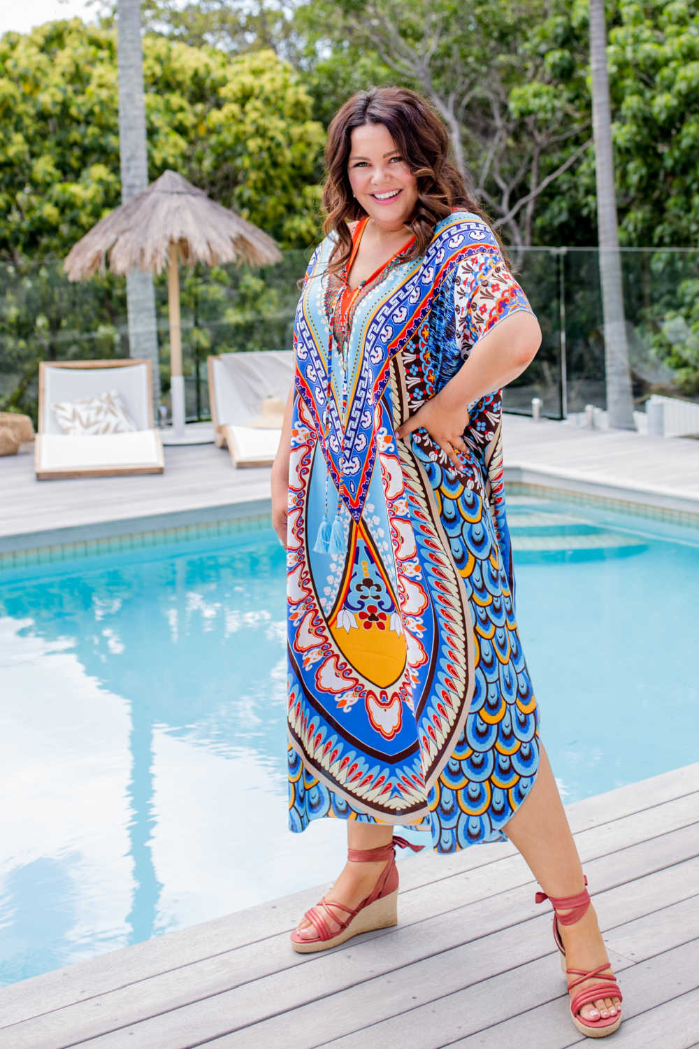 plus-size-long-kaftan-dress-blue-latte-floral-mandala