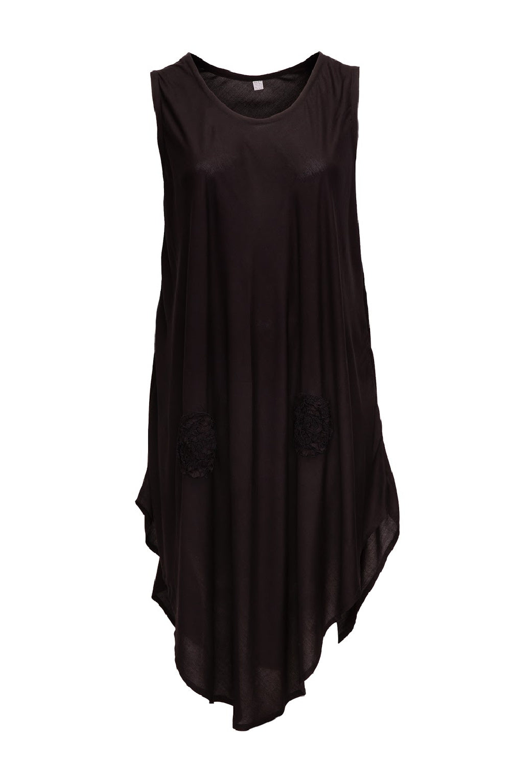 plus-size-summer-dress-black