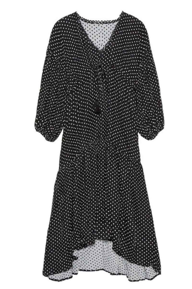 polka-dot-maxi-dress-black-white-dots