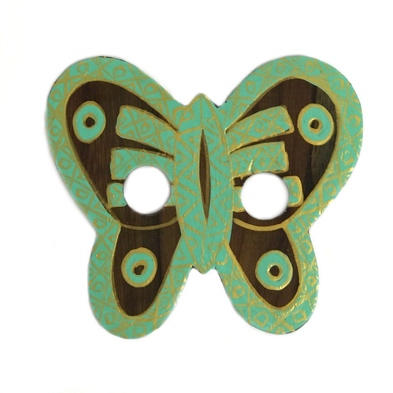 sarong-buckle-butterfly-gold-green-hand-painted-wood