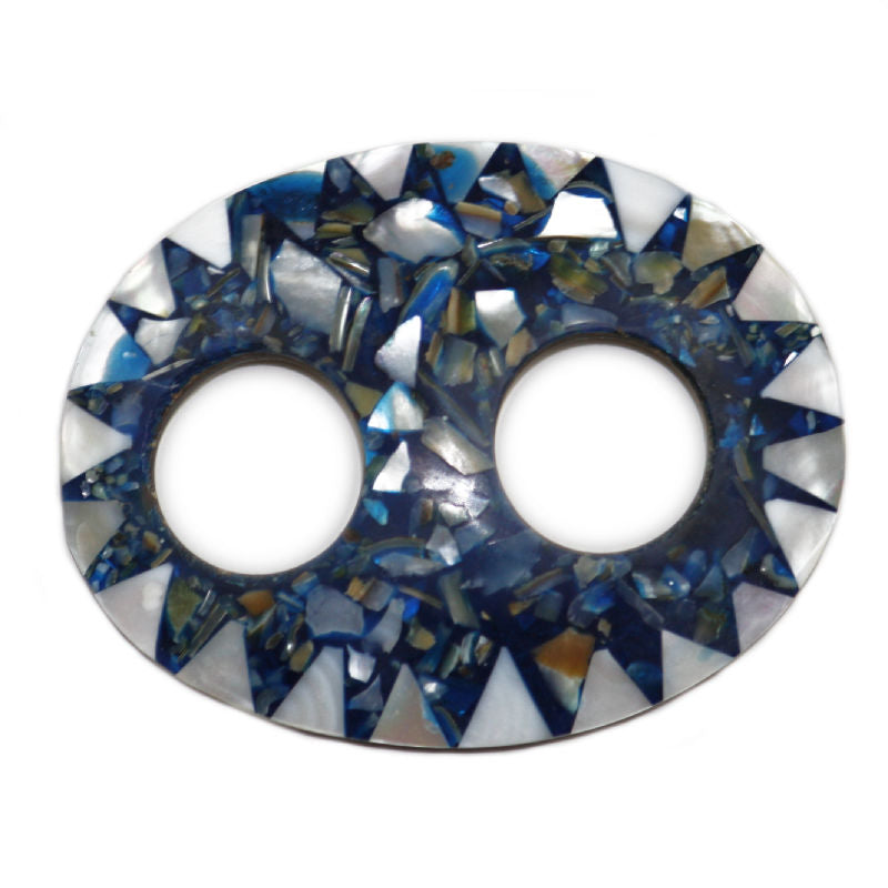 sarong-buckle-oval-dark-blue-white-shell-mosaic