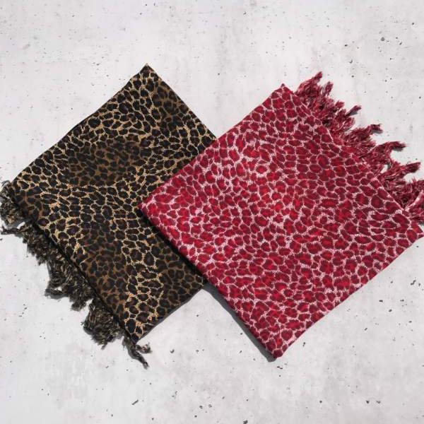 Leopard print sarongs - Holley Day