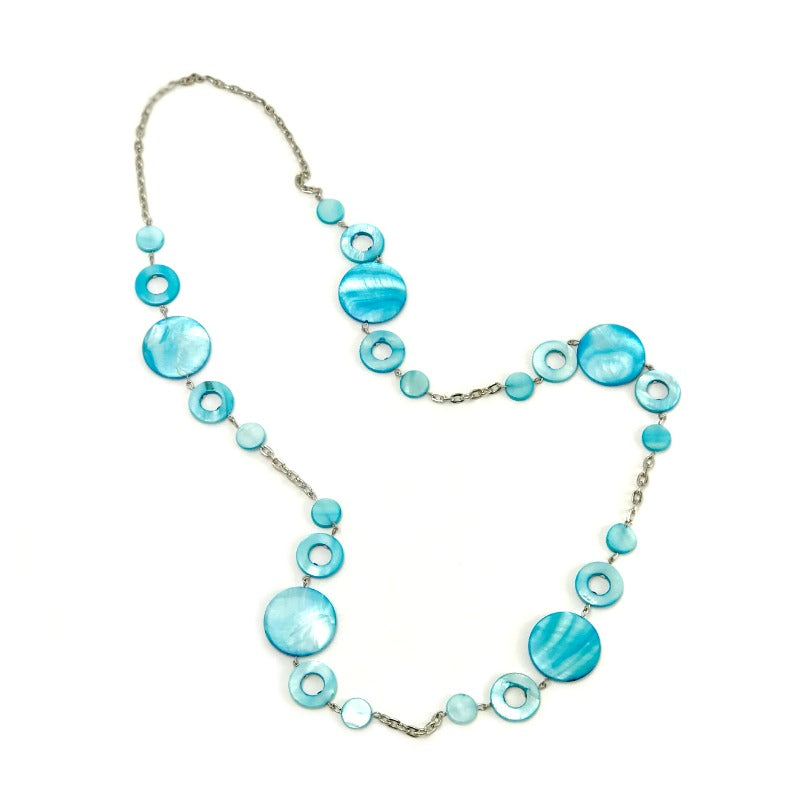 seashell-necklace-blue