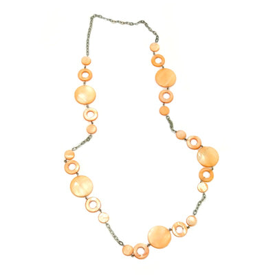 seashell-necklace-orange