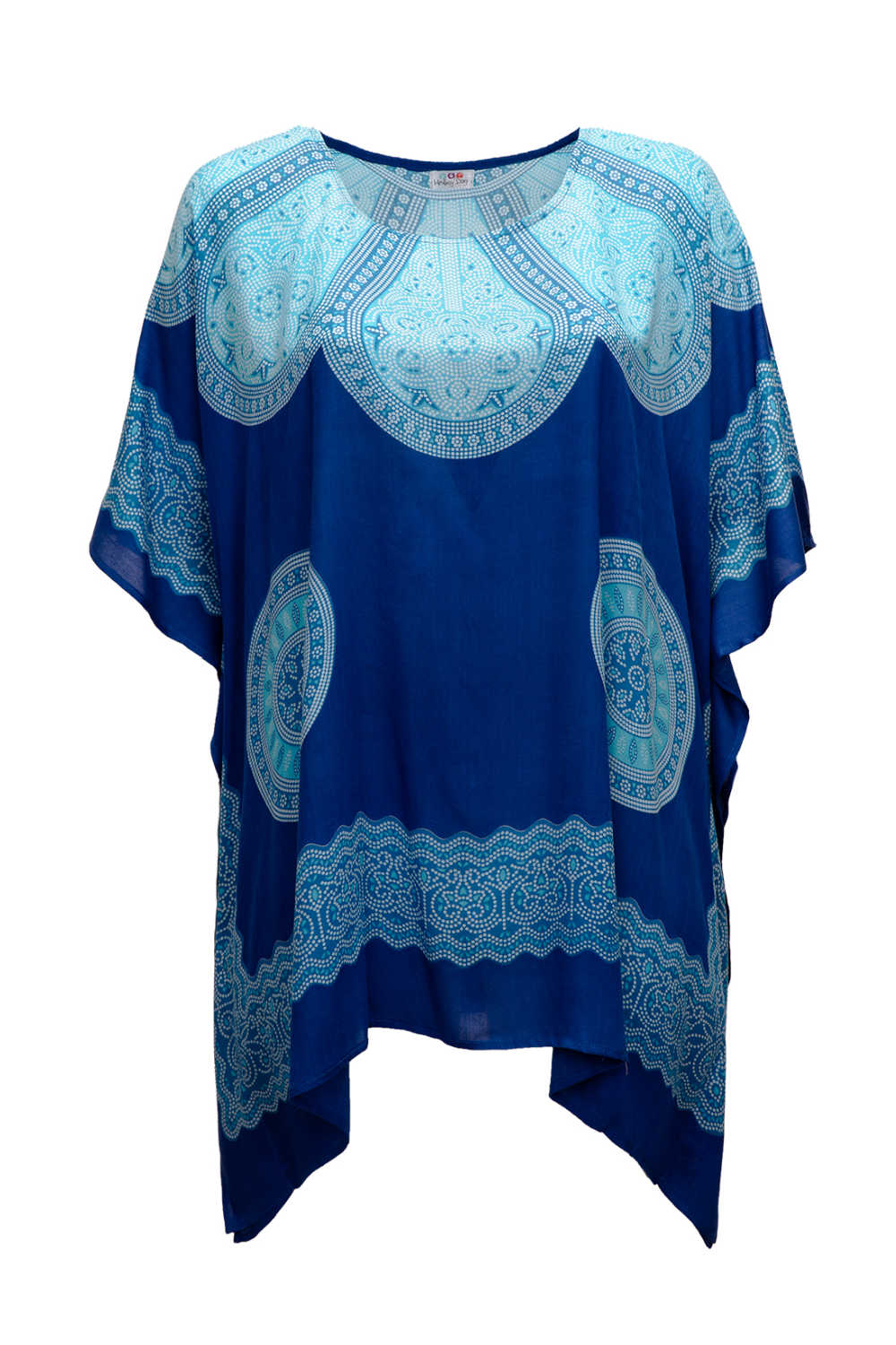 short-kaftan-dress-long-tunic-blue-mandala