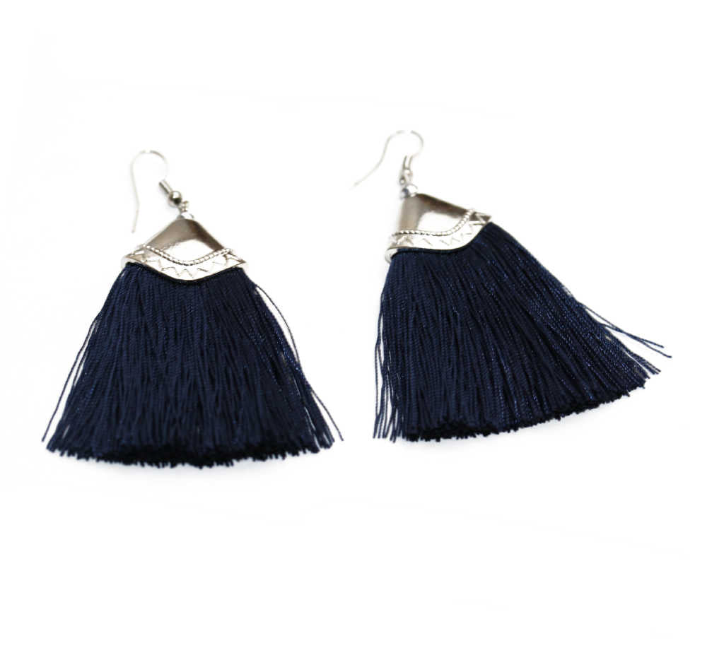 tassel-earrings-dark-blue
