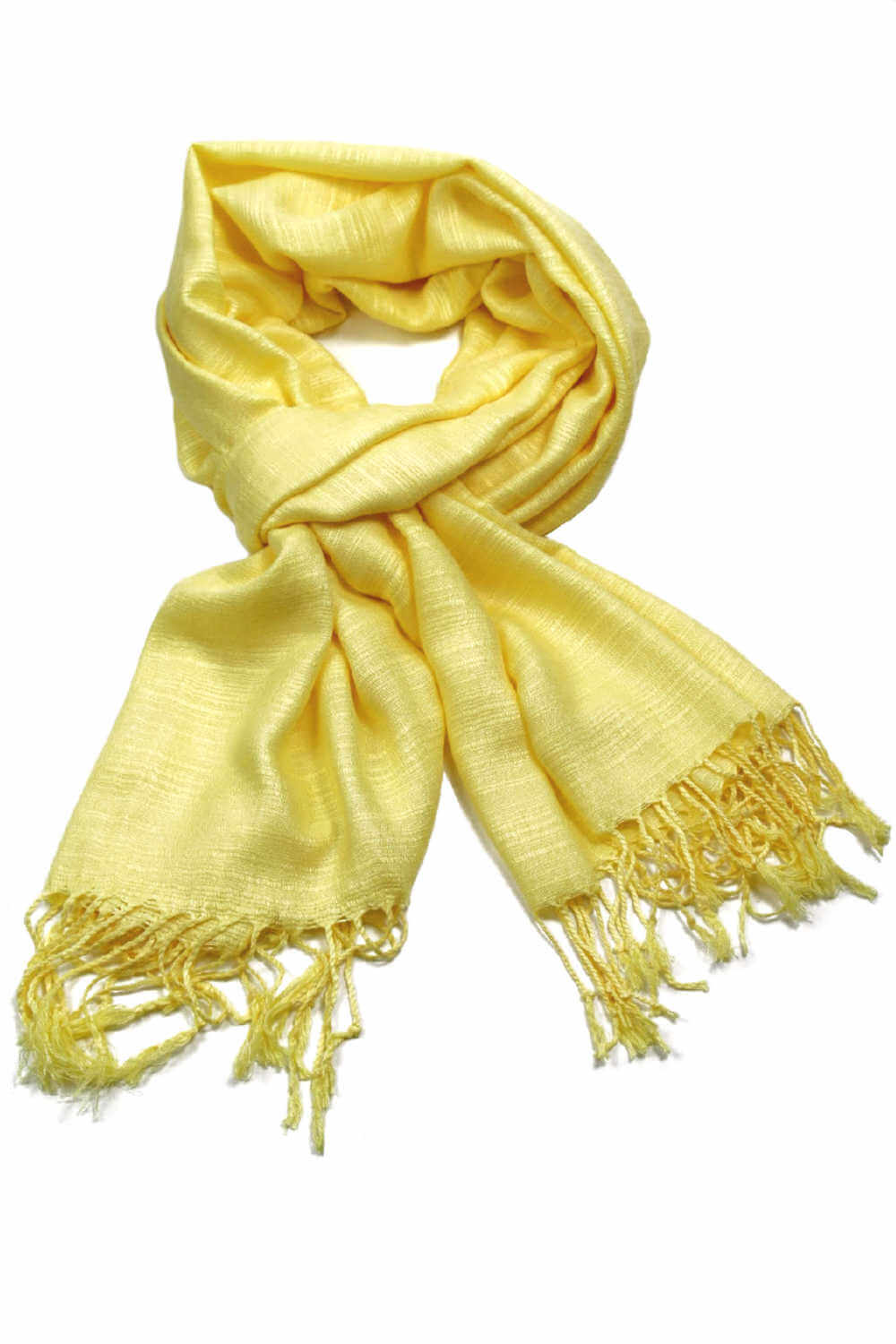 thai-silk-shawl-wrap-lemon-yellow