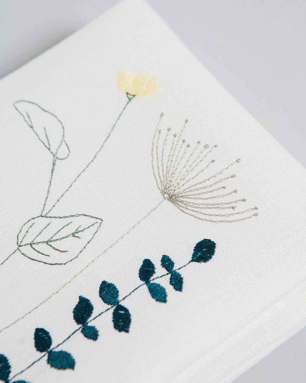 'Irish Wildflower' Irish Linen napkins x12 earth colour