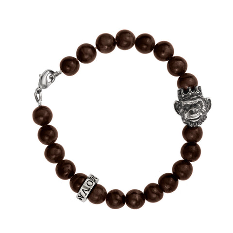 King Monkey Bracelet - Ocellar Quartz