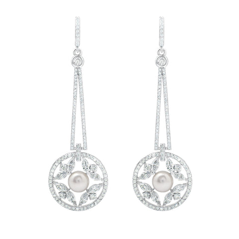 Art Deco Earrings - La Magla