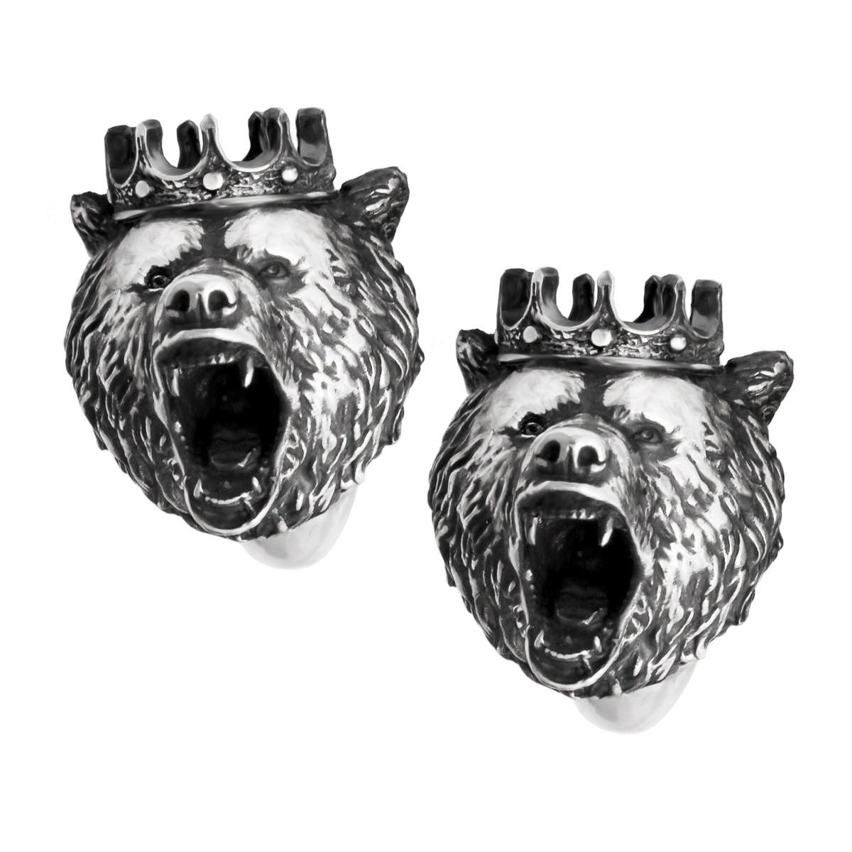 King Bear Cufflinks