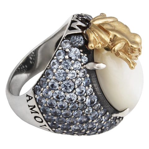 Forget Me Not Ring - Pearl