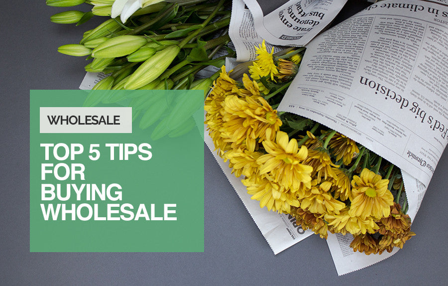 Top 5 Tips for Buying Wholesale