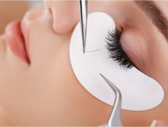 Single eyelash extensions