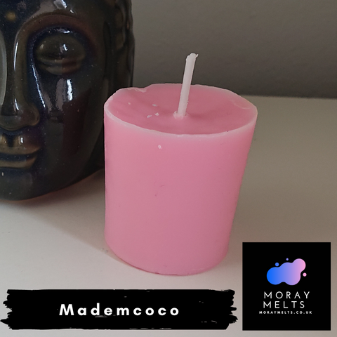 Mademcoco Scented Votive Candle Refill - 50g