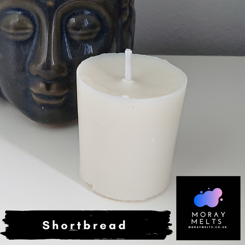Shortbread Scented Votive Candle Refill - 50g