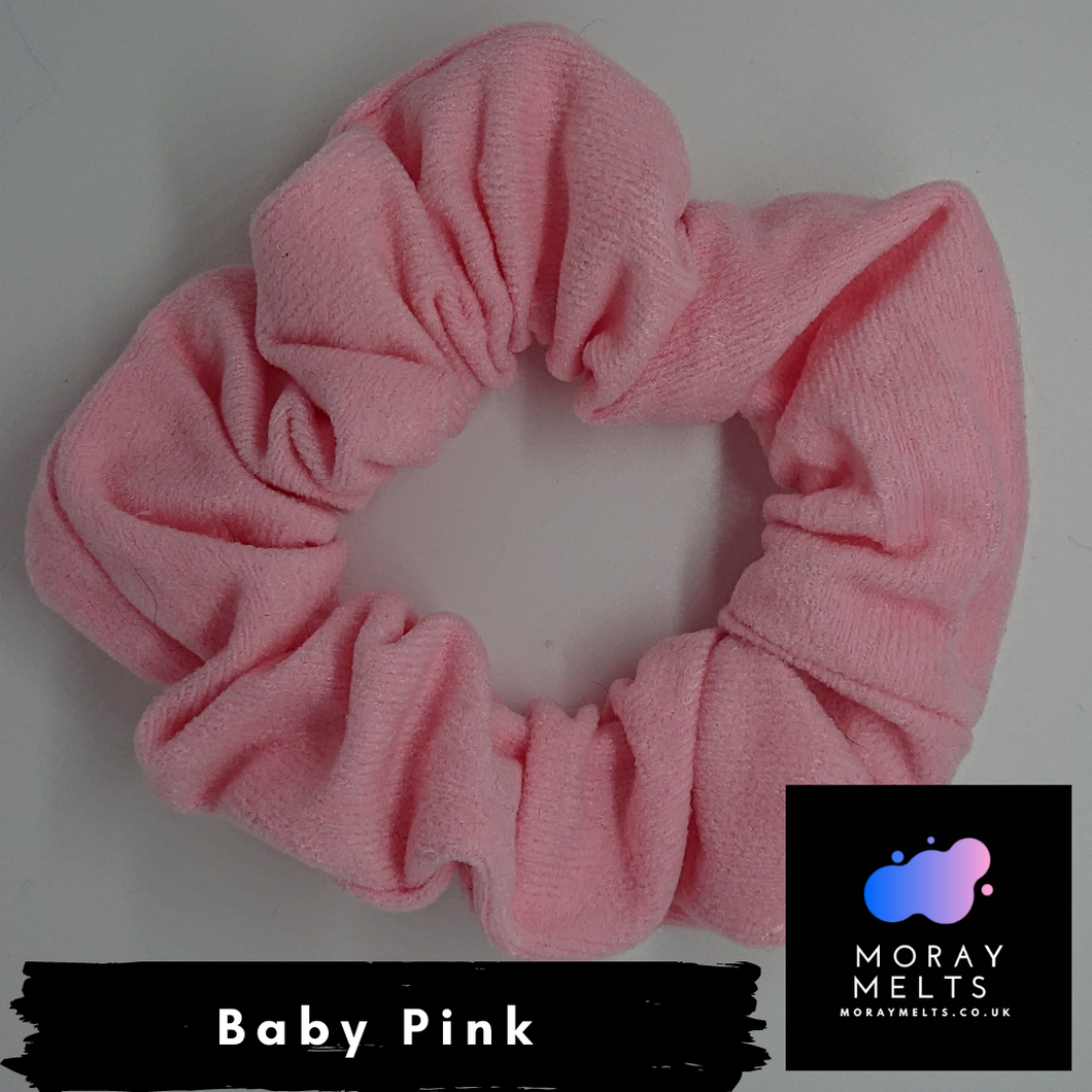 Baby Pink Hair Scrunchie