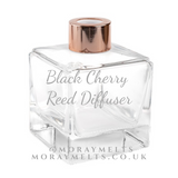 Black Cherry Reed Diffuser Bottle - 140ml Cube