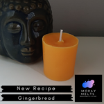 Gingerbread Scented Votive Candle Refill - 50g