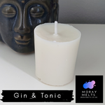 Gin & Tonic Scented Votive Candle Refill - 50g