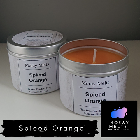 Spiced Orange Candle Tin - 175g or 75g