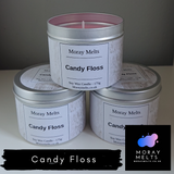 Candy Floss  Candle Tin - 175g or 75g