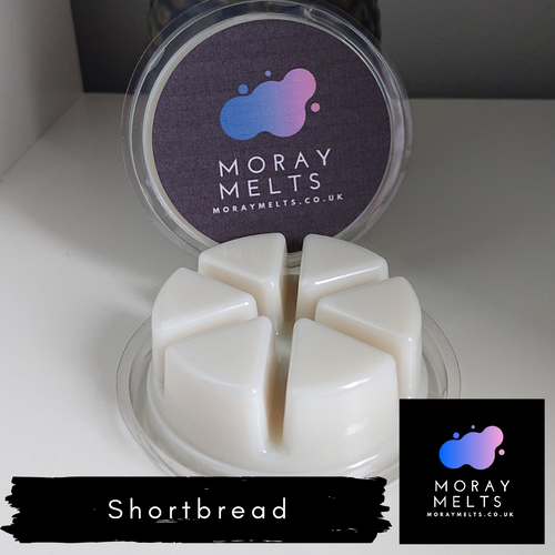 Shortbread Wax Melt Segment Pot 50g - Moray Melts