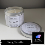 Very Vanilla Scented Candle Tin - 175g or 75g