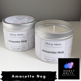 Amaretto Nog Scented Candle Tin - 175g or 75g