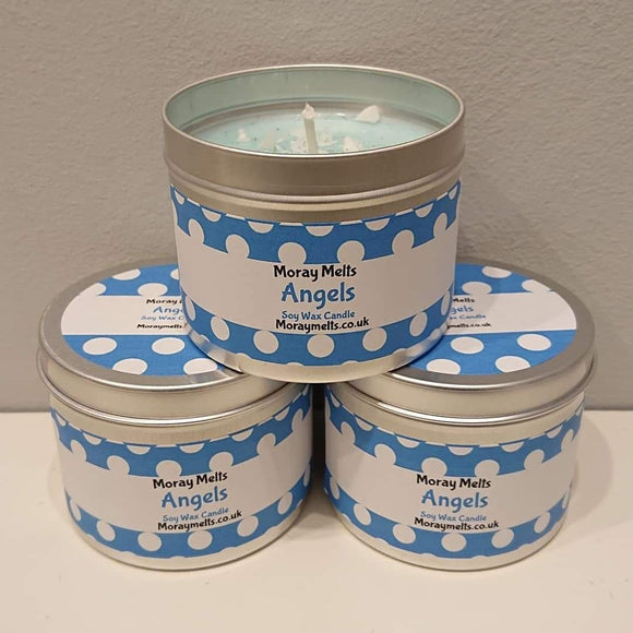Angels Scented Candle Tin - 175g