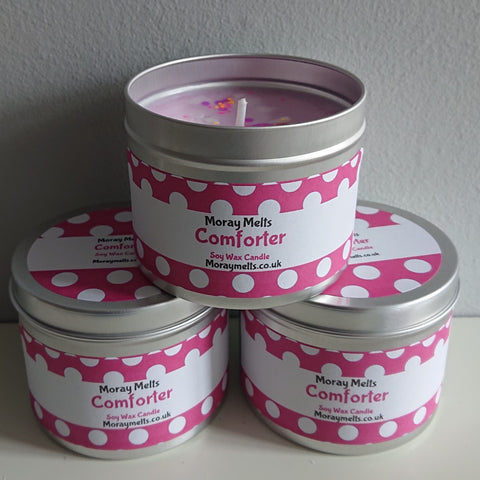 Comforter -Type Scented Candle Tin - 175g or 75g